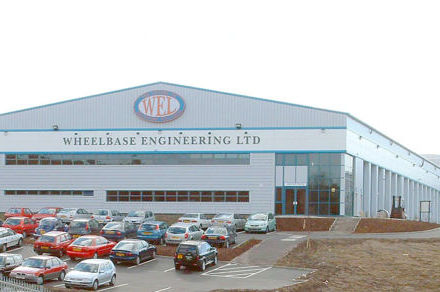 Wheelbase Engineering Ltd factory building.