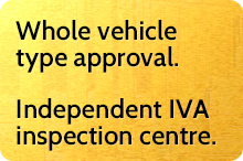 Whole vehicle type approval