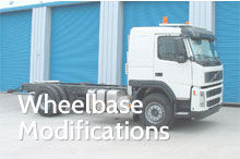 Photography of Wheelbase modifications