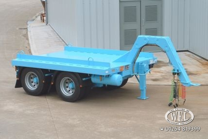 Skip drawbar trailers