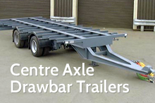 Photography of Centre axle drawbaw trailers