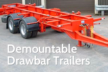 Photography of Demountable trailers