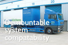 Photography of Demountable system compatability