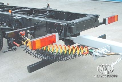 Drawbar towing equipment