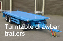Photography of Turntable drawbar trailers